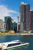 Sydney Harbor Cityscape Royaltyfria Foton