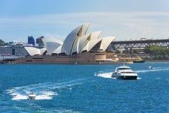 Sydney Harbor Cityscape Royaltyfria Bilder
