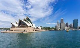 Sydney Harbor Cityscape Imagen de archivo libre de regalías