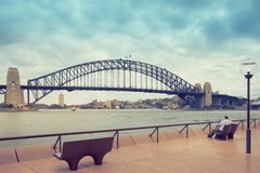 Sydney Harbor and cityscape Royalty Free Stock Image