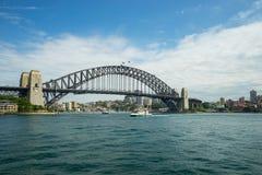 Sydney Harbor Cityscape. Sydney, Australia - February 19, 2017: View of the Sydney Harbor and cityscape stock photos