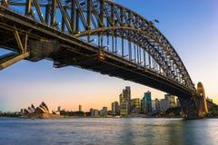 Sydney Harbor Cityscape. Sydney, Australia - February 20, 2017: View of the Sydney Harbor and cityscape Royalty Free Stock Image