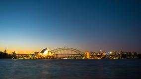 Sydney Harbor Cityscape. Sydney, Australia - February 22, 2017: View of the Sydney Harbor and cityscape Royalty Free Stock Photos