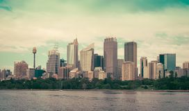 Sydney Harbor and cityscape Royalty Free Stock Photo