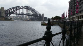 Sydney Harbor in the morning stock footage