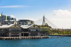 Sydney Harbor och cityscape Royaltyfria Foton