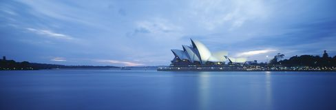 Sydney Harbor and Opera House Stock Photos
