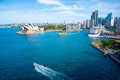 Sydney Harbor View Stock Photography