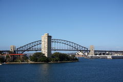 Sydney harbour. View of Sydney harbour with Harbour Bridge Royalty Free Stock Photography