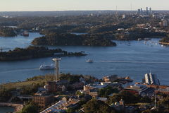 Sydney Harbour Aerial Imagens de Stock Royalty Free