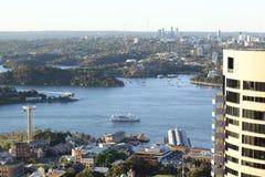 Sydney Harbour Aerial Imagens de Stock