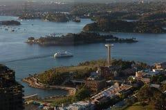Sydney Harbour Aerial Fotografia de Stock Royalty Free