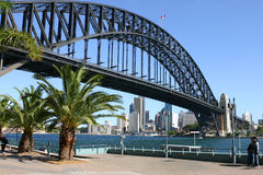 Sydney Harbour And Sydney Harbour Bridge Royalty Free Stock Images