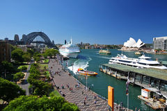 Sydney Harbour in Australia Stock Photo