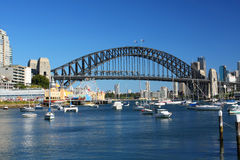 Sydney Harbour in Australia stock image