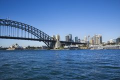Sydney Harbour, Australia. Royalty Free Stock Photo