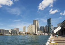 Sydney harbour in australia by day Royalty Free Stock Photos