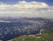 Sydney harbour Australia Day Royalty Free Stock Image