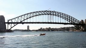 Sydney Harbour Bridge stock footage