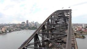 Sydney Harbour Bridge stock video