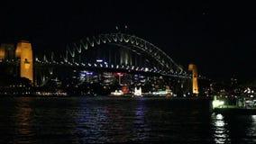 Sydney Harbour Bridge stock videobeelden
