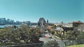 Sydney Harbour Bridge imagen de archivo libre de regalías