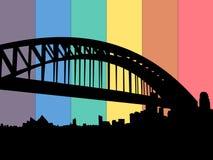 Sydney harbour bridge Royalty Free Stock Images