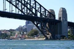 Sydney Harbour Bridge. And Luna Park amusment park, Sydney, Australia Stock Photo