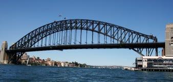 Sydney Harbour Bridge. & Pier One, Sydney, Australia Stock Photo