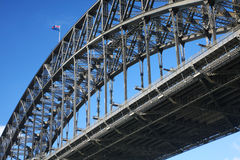 The Sydney Harbour Bridge Royalty Free Stock Photos