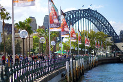 Sydney Harbour Bridge Stock Foto's
