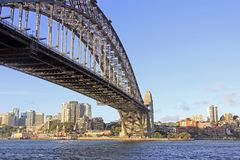 Sydney Harbour Bridge Royaltyfri Fotografi