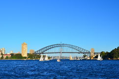 Sydney Harbour Bridge 4 Arkivbild