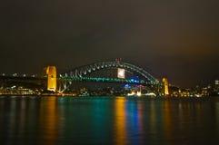 Sydney Harbour Bridge Royalty-vrije Stock Foto's