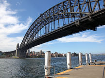 Sydney Harbour Bridge Stock Afbeeldingen