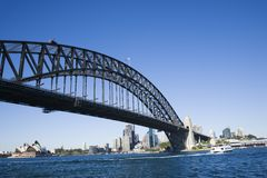 Sydney Harbour Bridge. Royalty Free Stock Photography