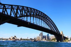 Sydney Harbour Bridge royalty-vrije stock afbeeldingen