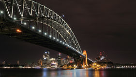 Sydney Harbour Bridge Stock Afbeelding