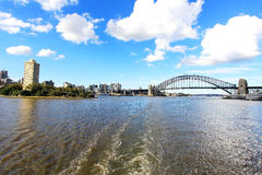 Sydney Harbour Bridge Images libres de droits