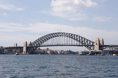 Sydney Harbour Bridge. From the Parramatta river side Stock Photography