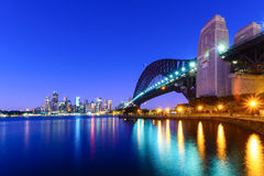 Sydney Harbour Bridge Photo libre de droits