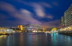 Sydney Harbour Bridge stock afbeeldingen