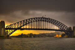Sydney Harbour Bridge Foto de Stock Royalty Free