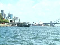 Sydney Harbour Bridge stock footage