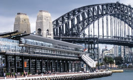 Sydney Harbour Bridge Lizenzfreies Stockfoto
