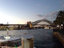 Sydney Harbour Bridge Foto de archivo