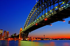 Free Sydney Harbour Bridge Royalty Free Stock Photo - 9665915