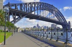 Sydney Harbour Bridge, Austrália Imagem de Stock Royalty Free