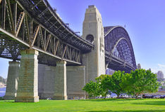 Sydney Harbour Bridge, Australia Stock Images