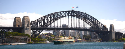 Sydney harbour bridge Australia royalty free stock image